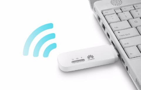 Подключение 4G модема к USB порту ноутбука