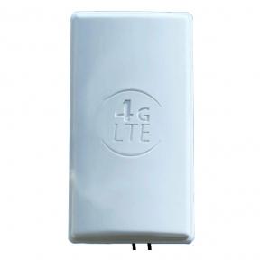 Панельная широкоугольная 4G LTE MIMO антенна усилением 2 × 24 dBi (1800-2600 МГц)