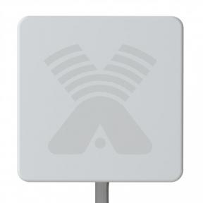 Панельная 3G/4G LTE антенна Antex ZETA-F MIMO 2x2 усилением 20 dBi