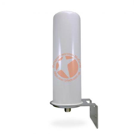 Всенаправленная антенна InterGSM GJX-698-2700-10 усилением 10 dBi (700 - 2700 МГц)
