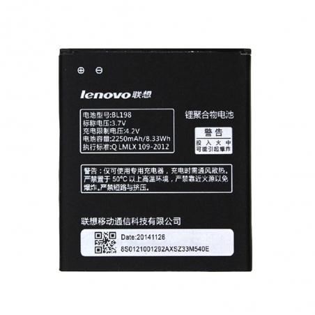 Аккумулятор Lenovo BL198 (2250 mAh)