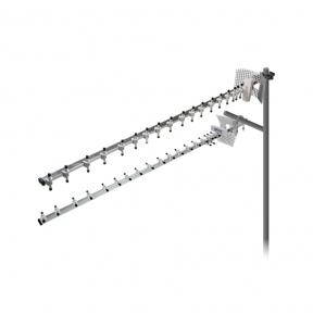 Направленная 4G LTE MIMO антенна R-Net Дуплекс усилением 2 х 20 dBi (1700-2170 МГц)