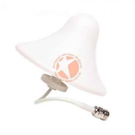 Купольная всенаправленная GSM/UMTS/LTE/WiFi антенна Lintratek AO-800/2500 усилением 3 dBi (800-2500 МГц)