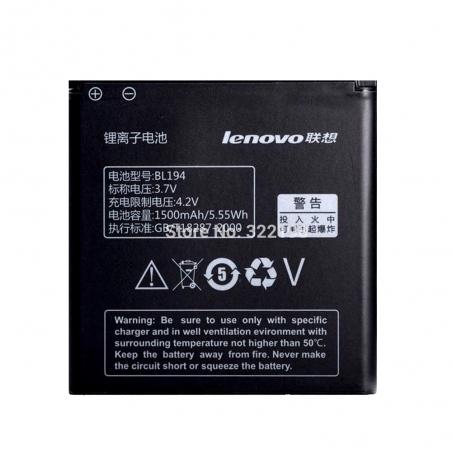 Аккумулятор Lenovo BL194 (1500 mAh)