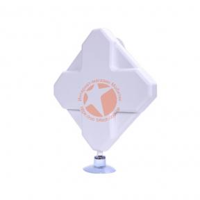 Антенна планшетная всенаправленная 4G LTE MIMO 800-2600 МГц усилением 2 × 9dBi