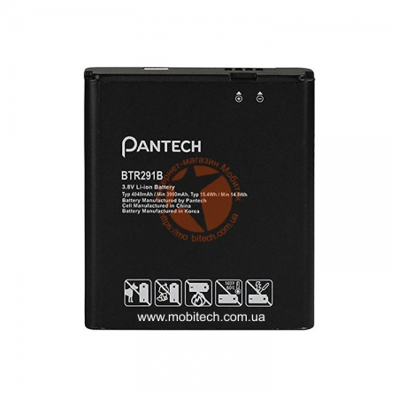 Аккумулятор Pantech BTR291B (MiFi 291L, 4040 mAh) Original