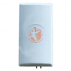 Антенна панельная направленная 4G LTE MIMO 1800-2600 МГц усилением 2 × 24dBi