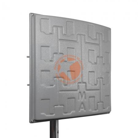 Панельная 3G/4G LTE MIMO антенна Сарма+ усилением 2 x 19 dBi (1700-2700 МГц)