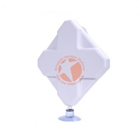 Панельная всенаправленная 4G LTE MIMO антенна усилением 2 × 9 dBi (800-2600 МГц)