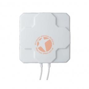 Антенна панельная направленная 4G LTE MIMO 800-2600 МГц усилением 2 × 22dBi